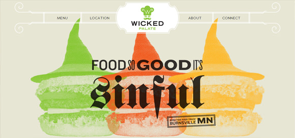 20 Cool Restaurants and Foods Website Designs